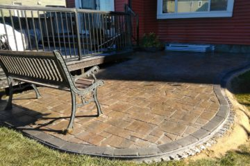 Stone Patios & Interlocking Pavers